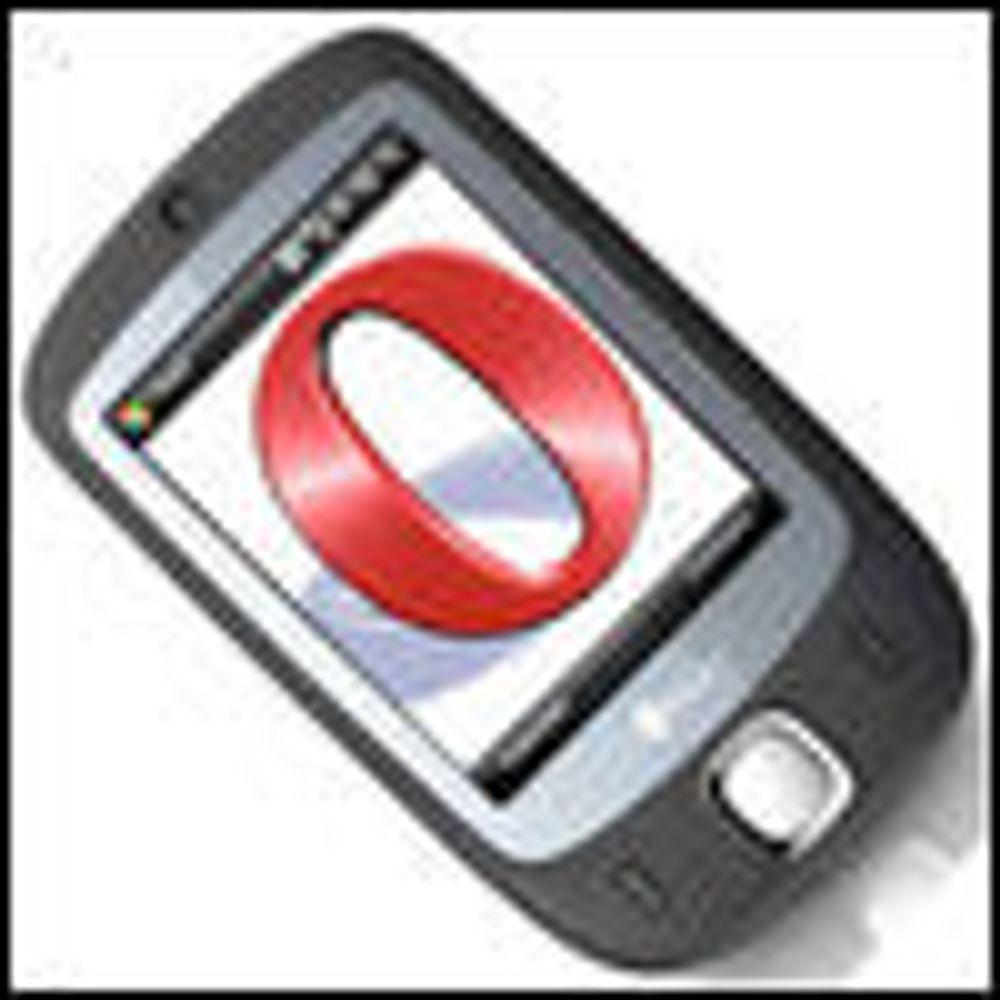 Opera har mer enn halvparten av mobilmarkedet