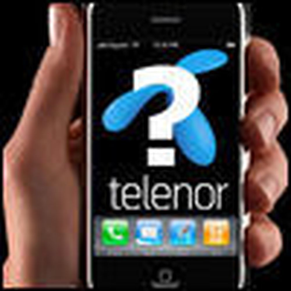 5000 Telenor-kunder bruker iPhone