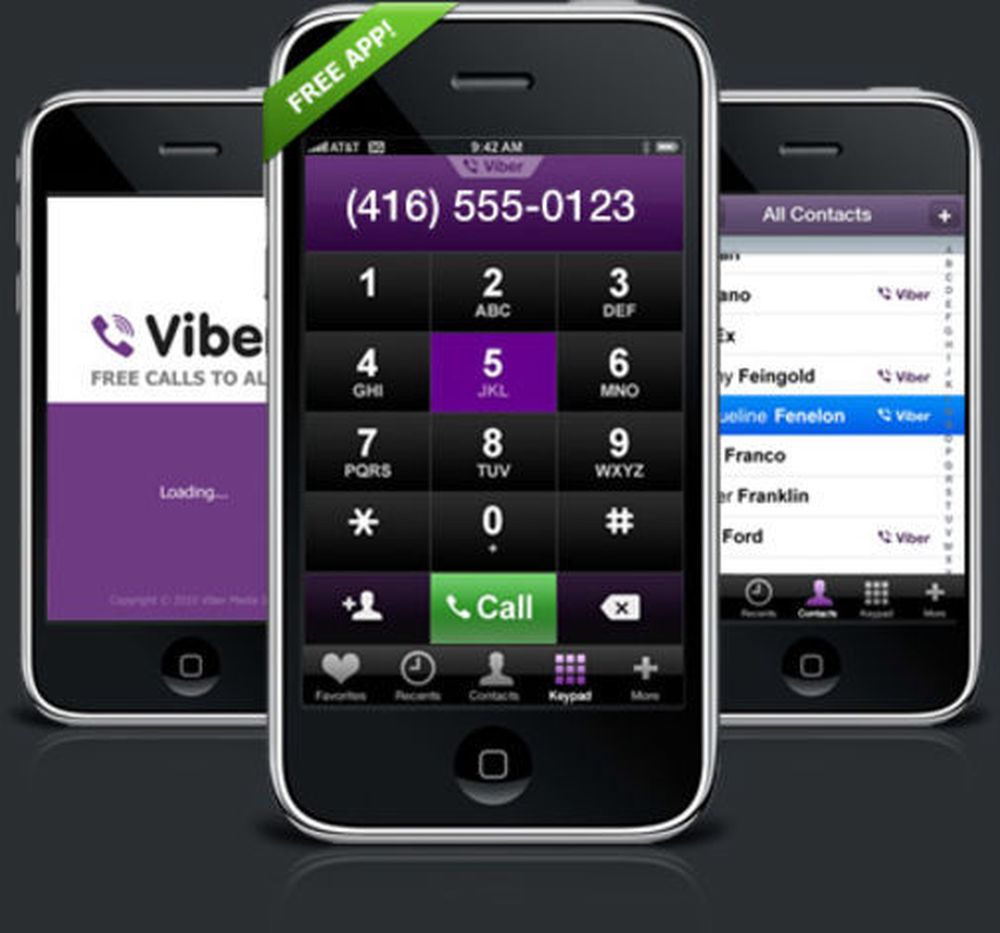 Viber klar for Android
