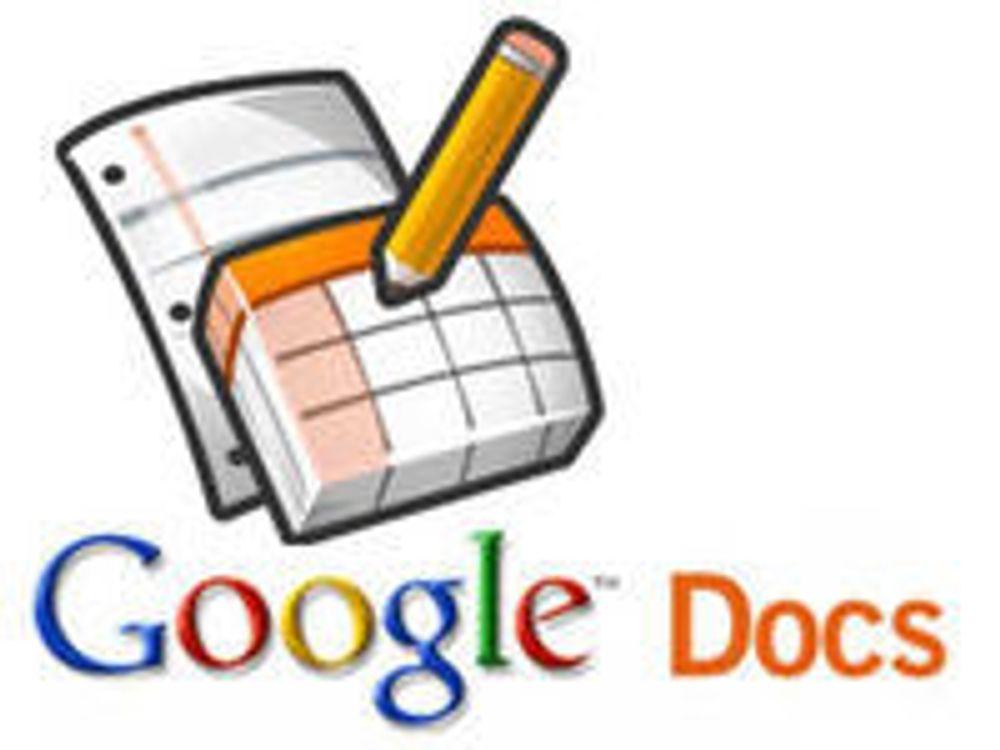 Minneproblem fikk Google Docs til å feile