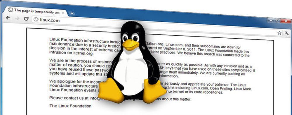 Linux under angrep