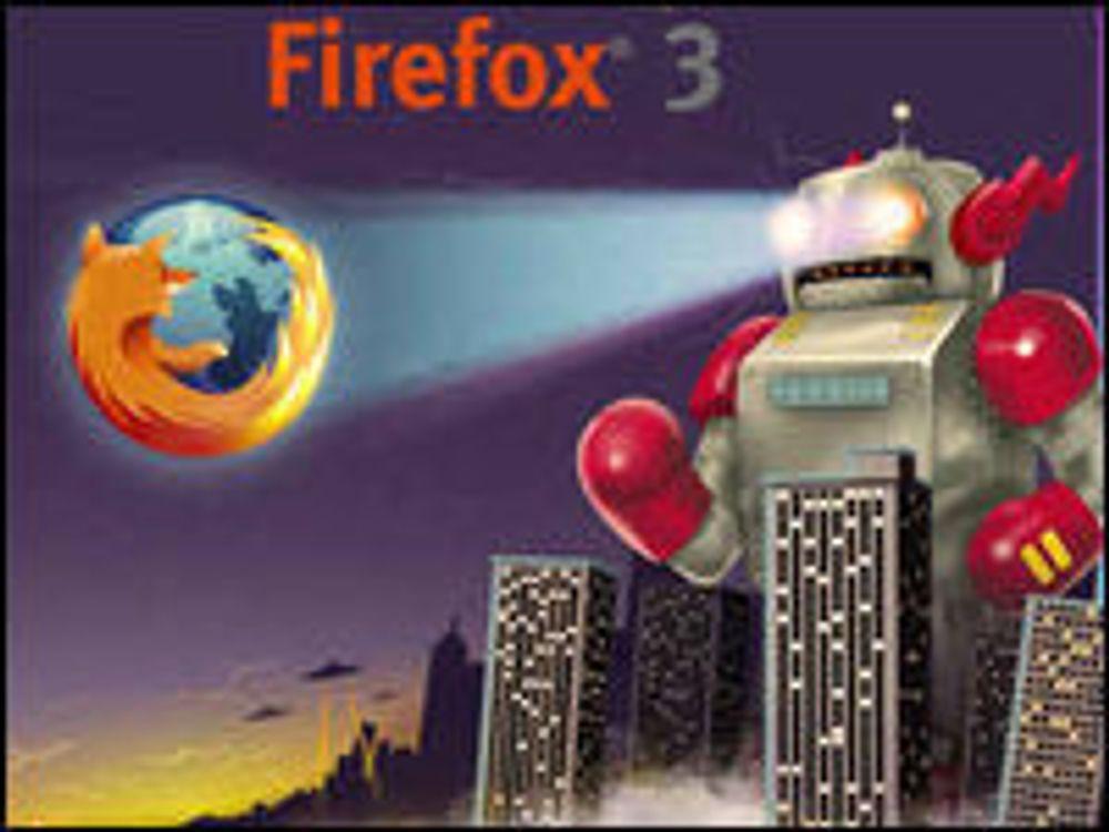 Nå kan du laste ned Firefox 3