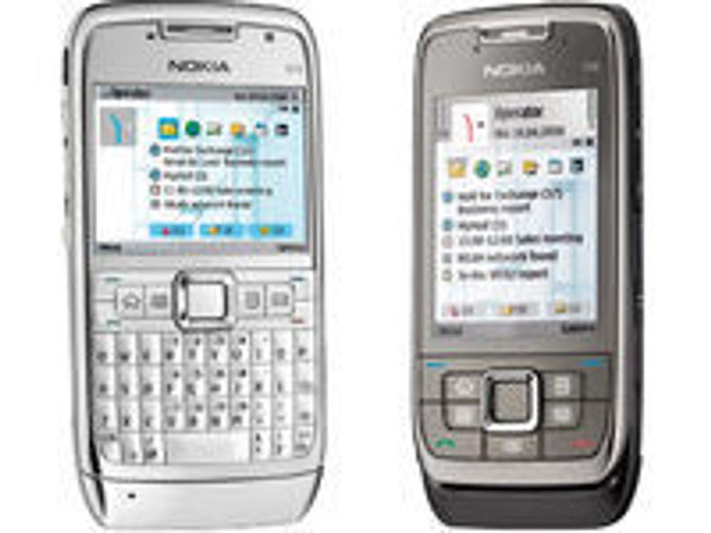 Nye Nokia-mobiler til bedriftsbrukere