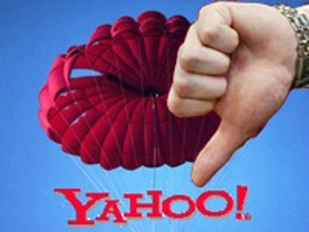 - Yahoo veiver det hvite flagget