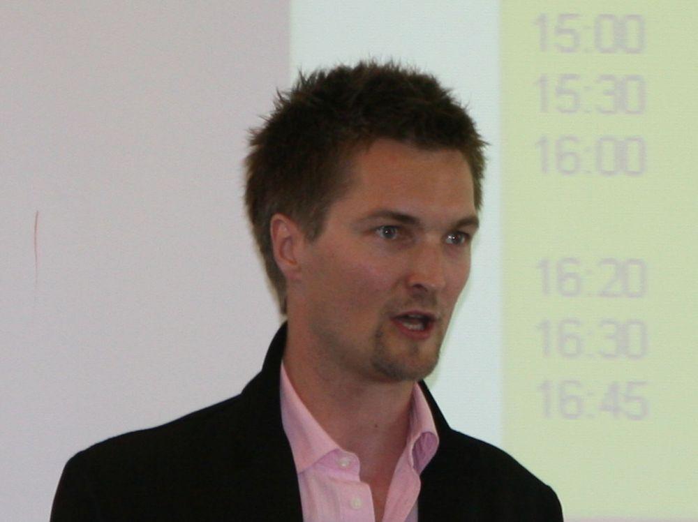 Øyvind Hind Haug og Tomato tror de skal greien en omsetning på 120 millioner kroner i år.