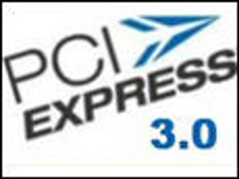 Dobbel hastighet med PCI Express 3.0