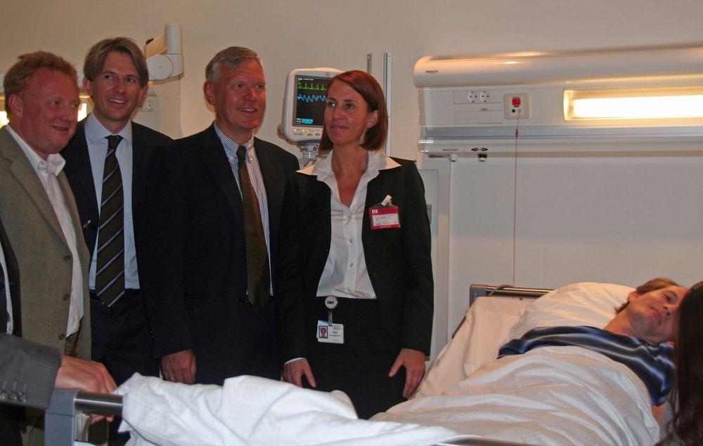 Åpning av HPs helsesenter 11.juni 2008