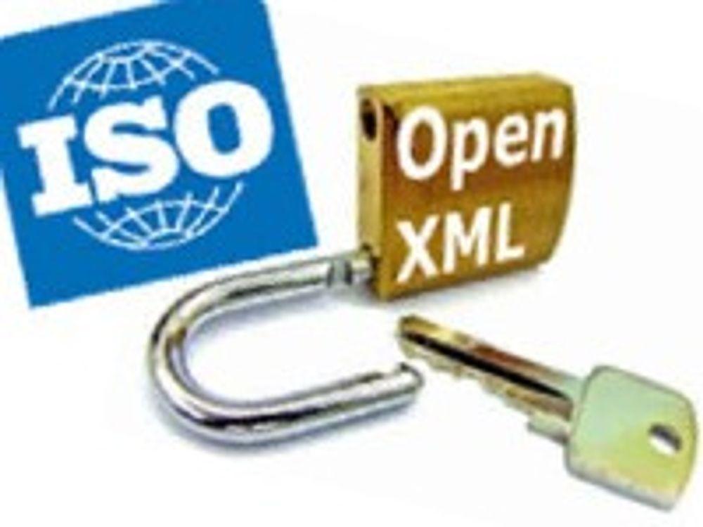 ISO legger Microsoft-formatet på vent
