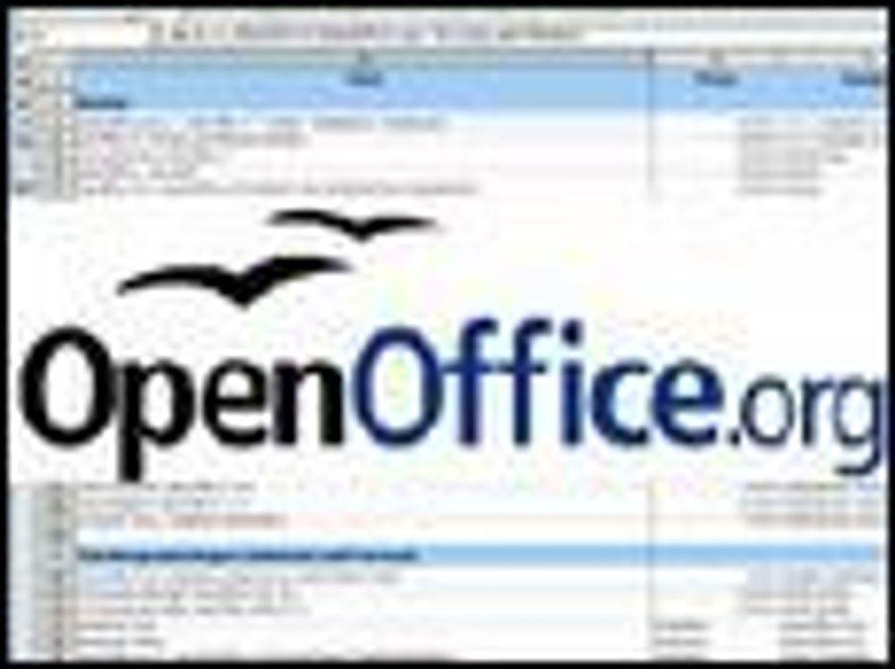 Omsider ny OpenOffice-versjon på norsk