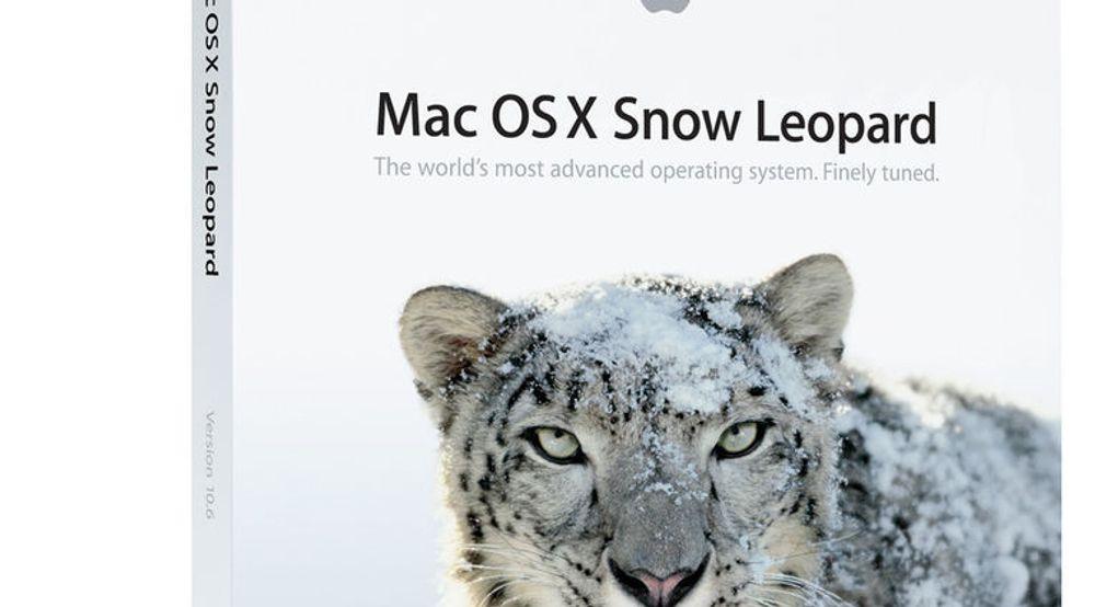 Apple gir bort Snow Leopard