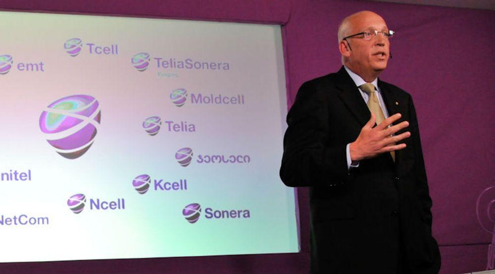 Lars Nygren, toppsjef i TeliaSonera, varsler en ny prismodell for å tjene mer på økende datatrafikk på mobil.