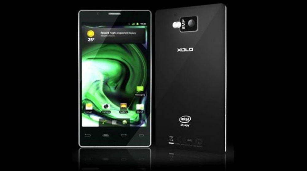 Indiske Lava Xolo blir trolig dem første Intel-baserte smartmobilen som kommer på markedet.