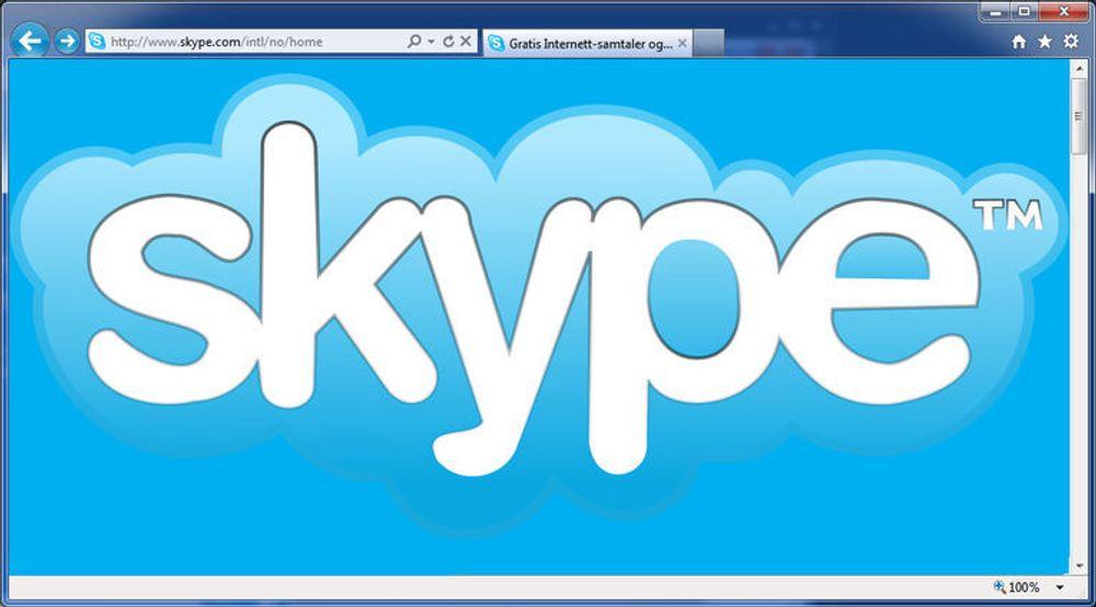 Trolig vil Skype i framtiden kunne brukes direkte i nettlesere som Internet Explorer.