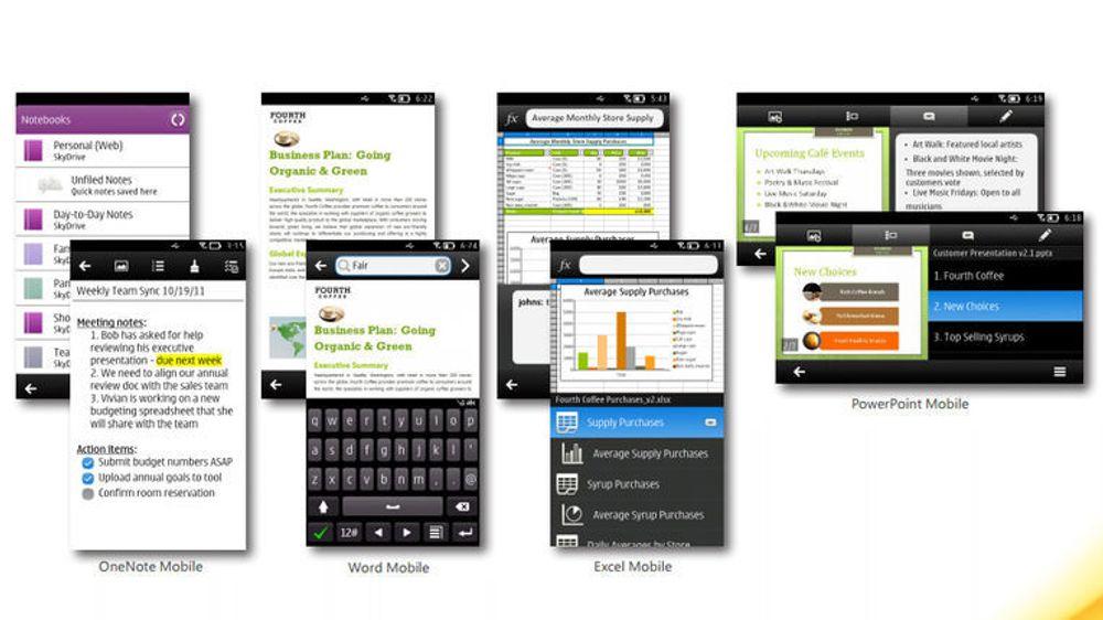 Symbian-brukere får Microsoft Office
