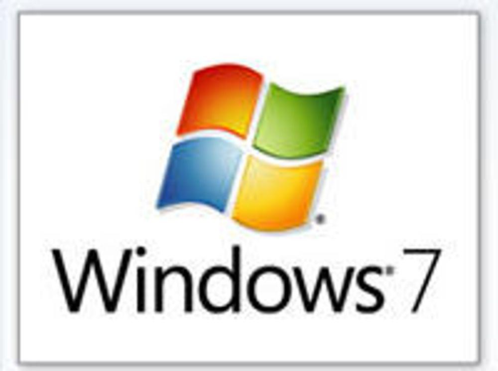 Windows 7 beta-versjonen av Windows Explorer.