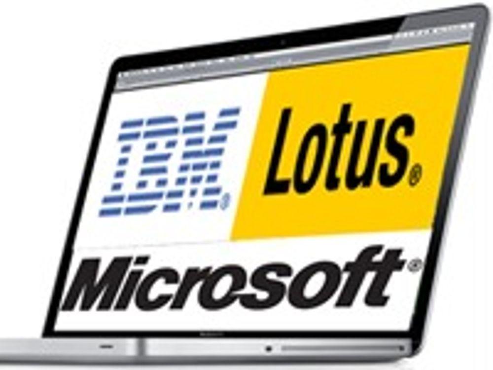 IBM og Microsoft frir til Mac-brukere