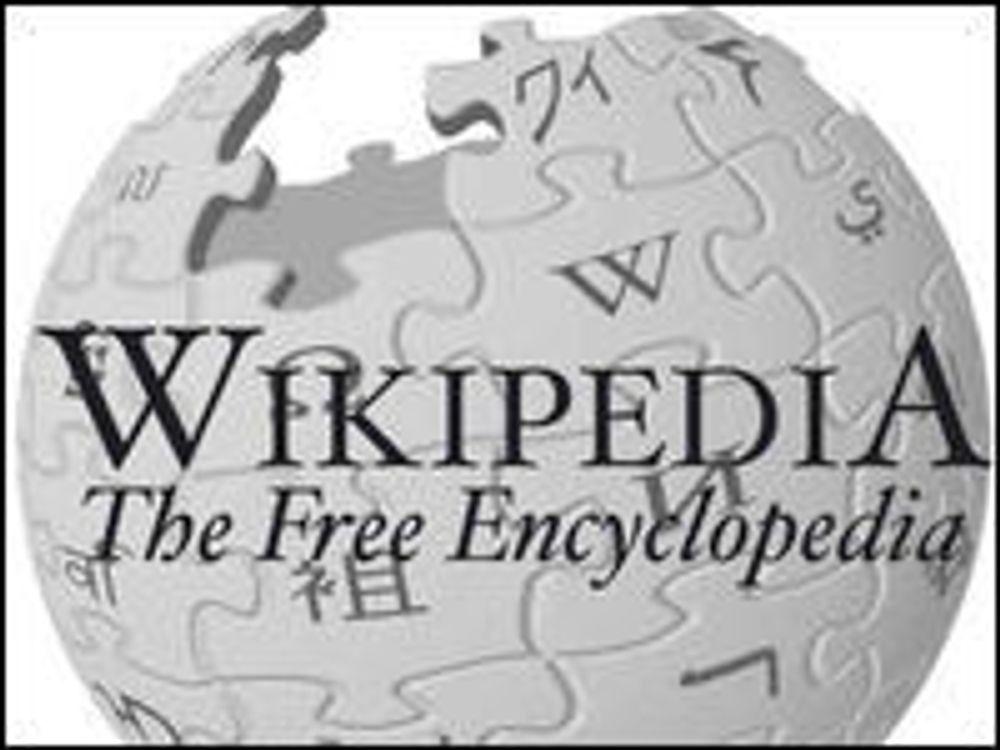 Wikipedia overlever enda et år