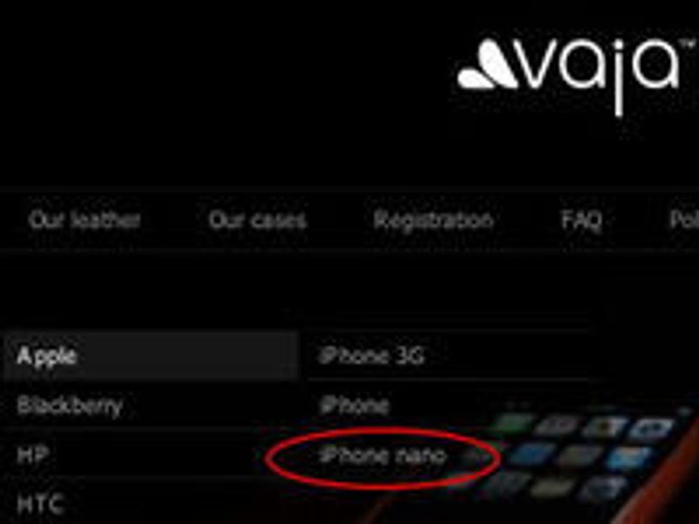 Sterke rykter om «iPhone nano»