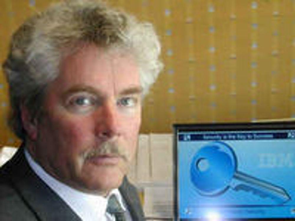 Advarer mot dataangrep i julehøytiden: nordisk sikkerhetssjef Torgeir Daler i IBM.