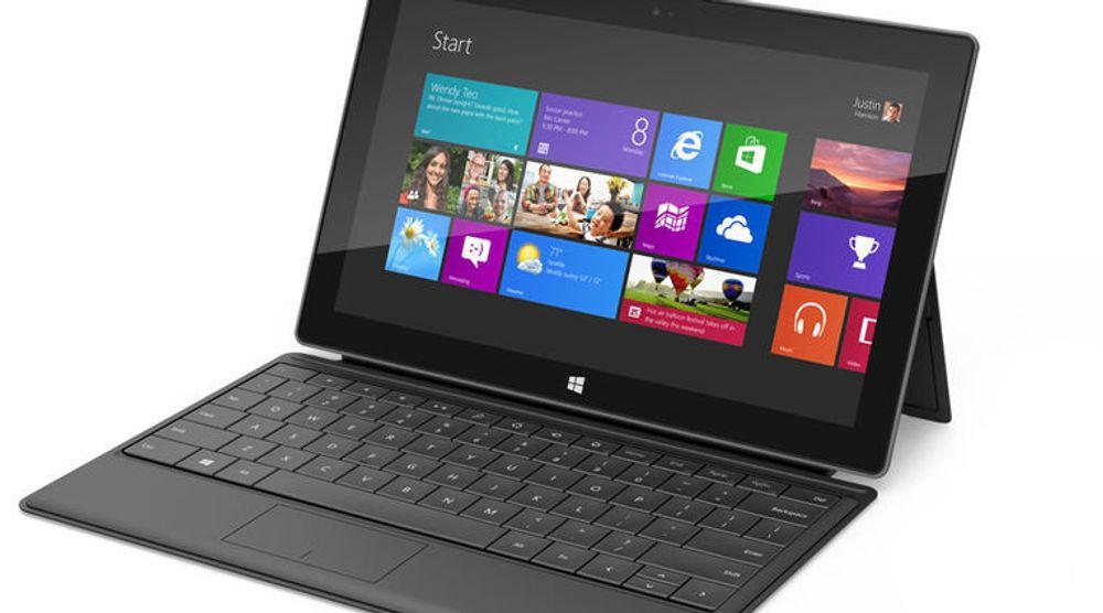 Acer nøler med Windows RT