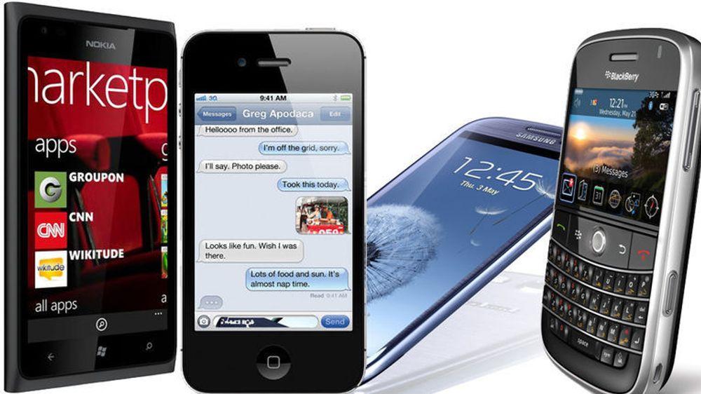 Nokia Lumia 900, Apple iPhone 4S, Samsung Galaxy S III og BlackBerry Bold 9930 er mulige angrepsmål under Mobile Pwn2Own 2012.