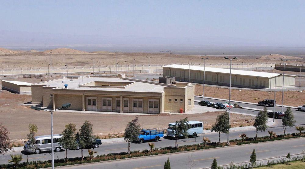 Atomanlegget i Natanz, Iran, skal være blant de som ble rammet av ormen.