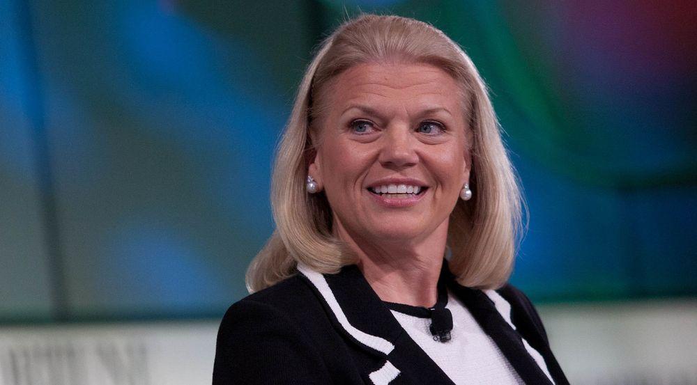 Toppsjef Ginni Rometty følger en femårsplan som skal øke lønnsomheten i IBM ved å satse stadig mer på applikasjoner for forretningsanalyse og tjenester fra nettskyen.