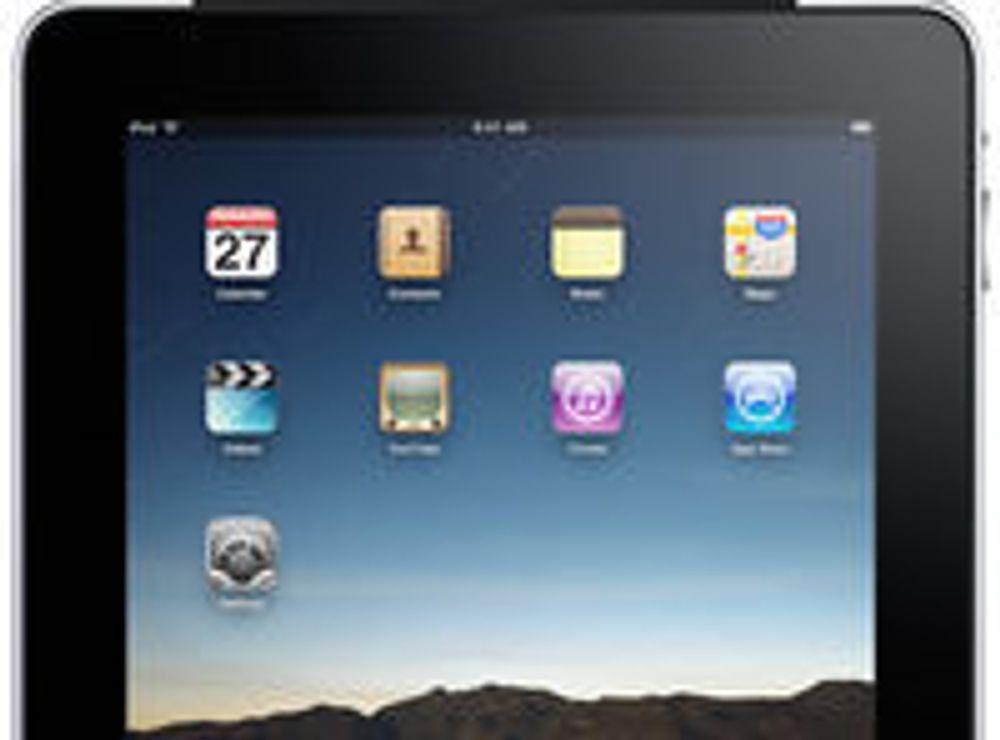 iPad åpnet som iPhone