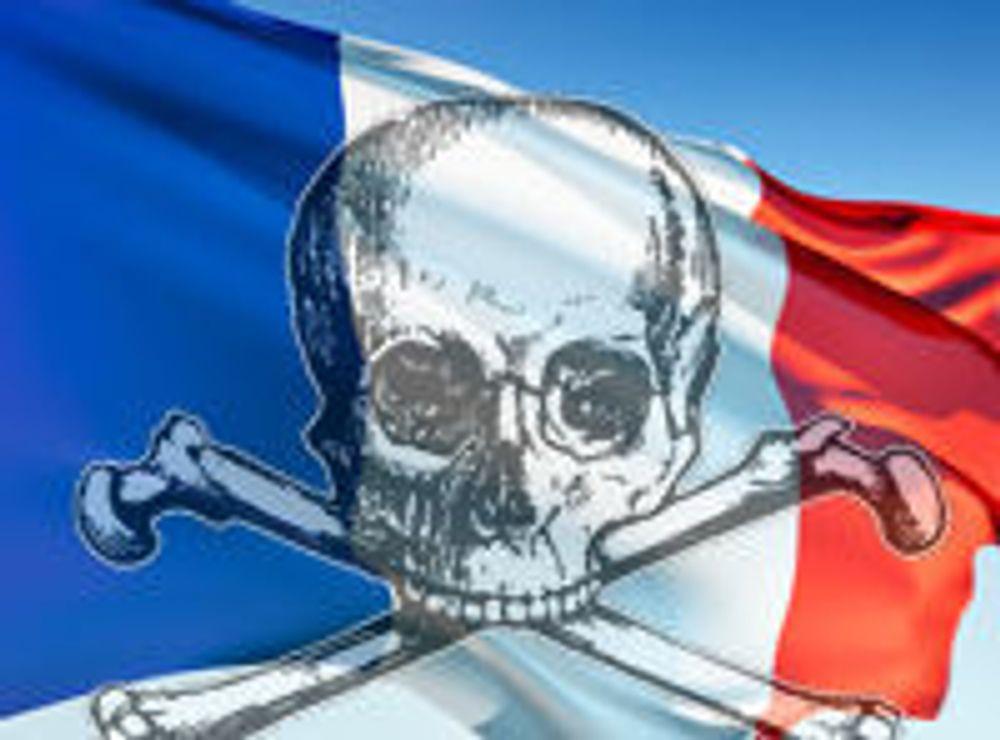 Frankrike rammet av hackere
