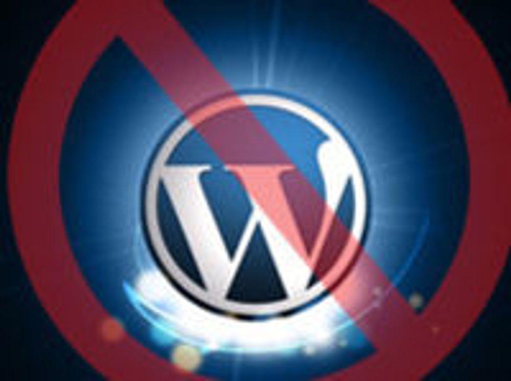 Wordpress slått ut av DDoS