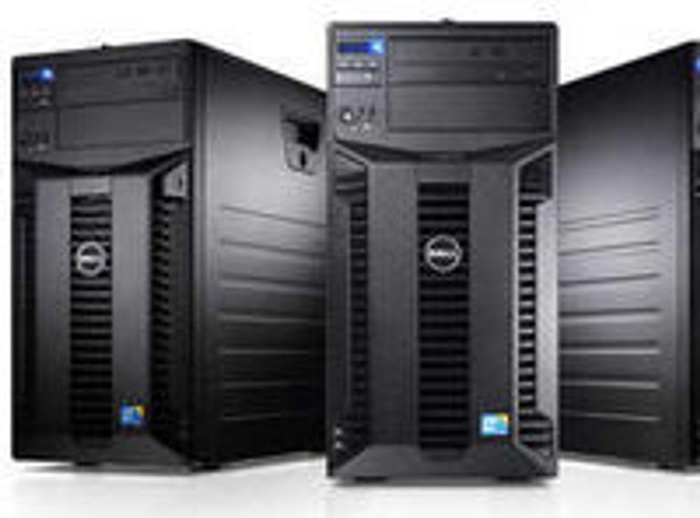 Kraftig vekst i servermarkedet