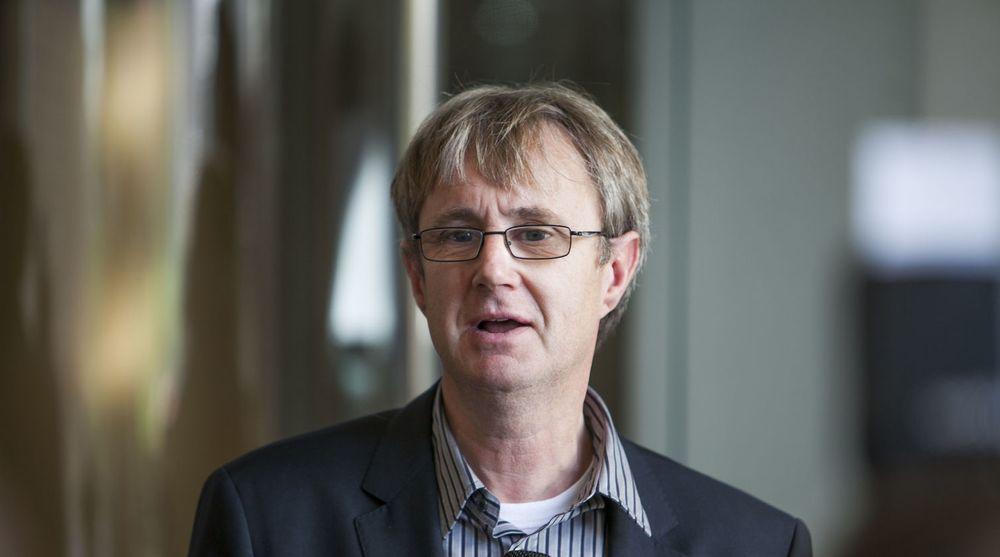 Telenors dekningsdirektør Bjørn Amundsen vil snart kunne surfe med 4G-fart på sin iPhone 5.