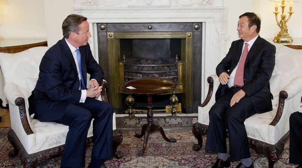 I september i fjor lovet Huawei-sjef Ren Zhengfei å investere for milliarder i Storbritannia, under et møte med statsminister David Cameron.