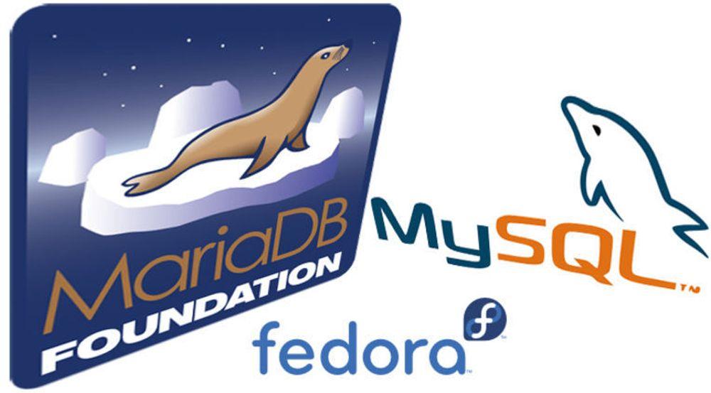 Fedora 19 kan komme til å bli levert med MariaDB i stedet for MySQL som standard databasesystem.