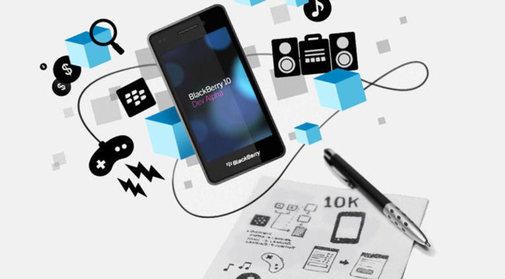 RIMs 10K Developer Commitment har fått fart på applikasjonsutviklingen til BlackBerry 10.