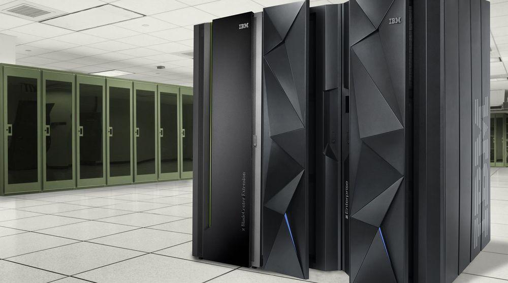 zEC12 ble lansert i august i fjor. Stormaskinene til Evry håndterer 120 millioner transaksjoner per dag.