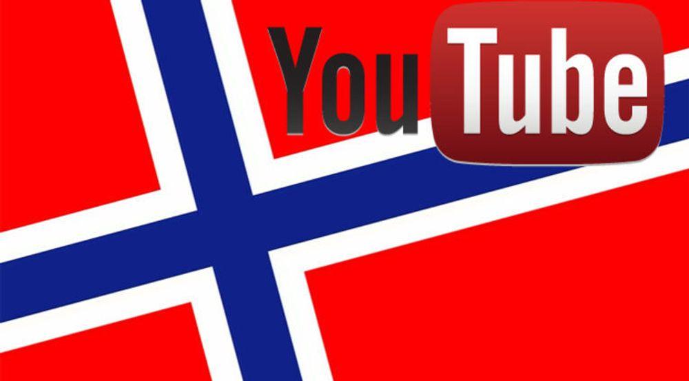 Google lanserer norsk Youtube