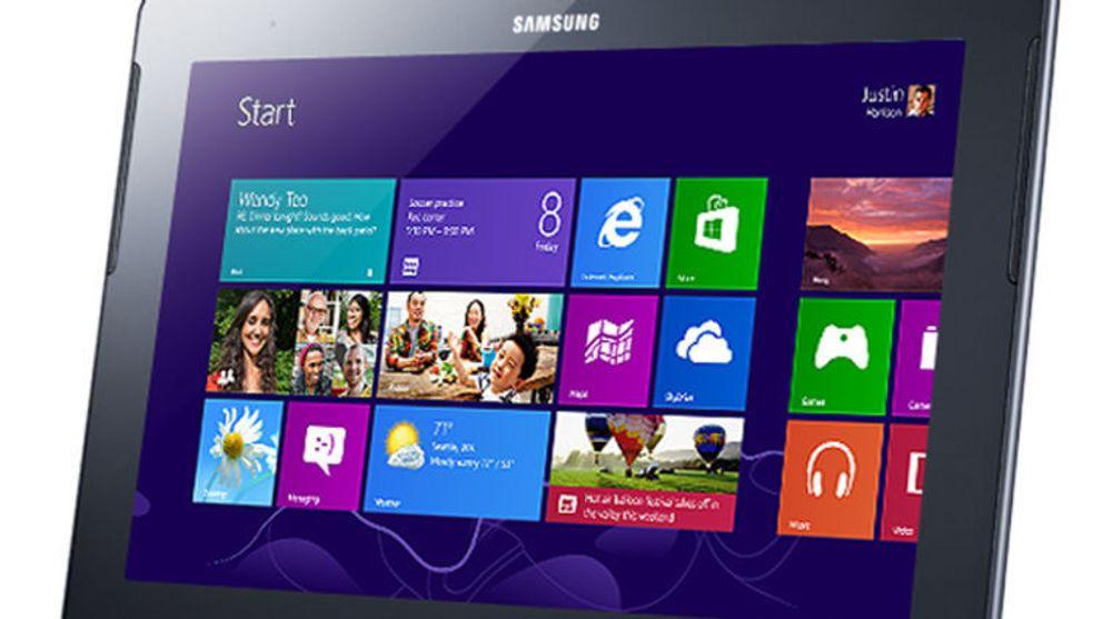 Samsung Ativ Tab er basert på Windows RT, et produkt i Windows-familien som kun er beregnet for ARM-baserte nettbrett.