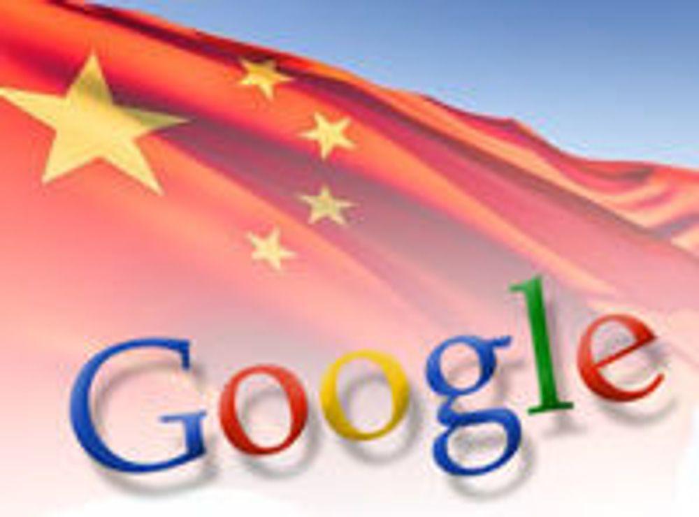 Kina gir ikke etter overfor Google