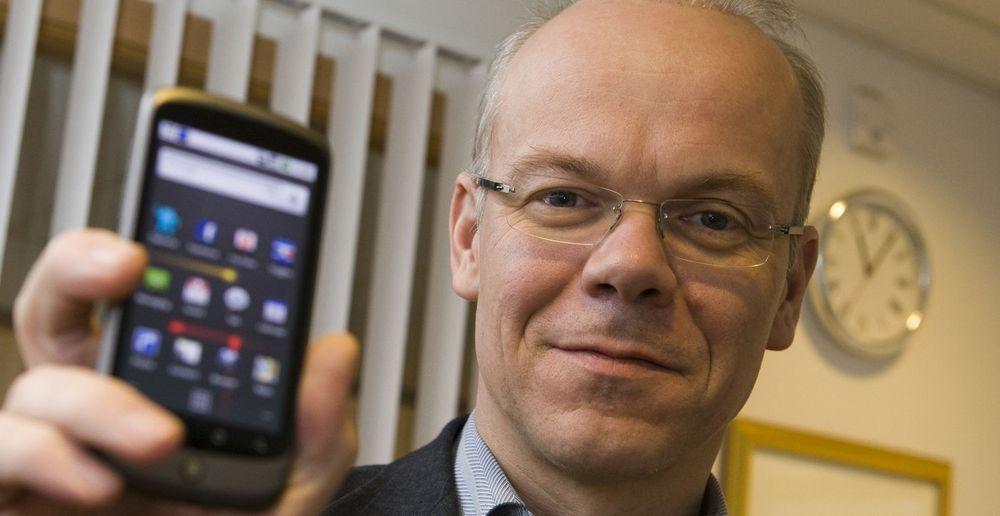 Google Norge-sjef Jan Grønbech er svært fornøyd med Nexus One. Men dette er bare første modell i en serie mobiltelefoner fra Google og HTC.