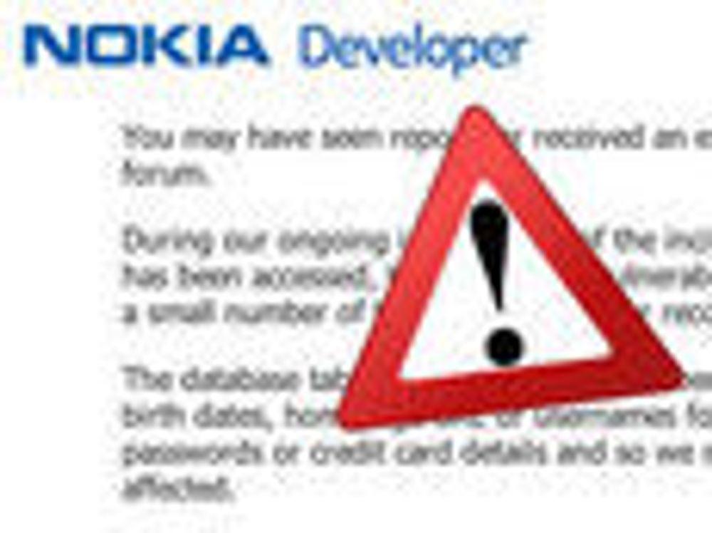 Nokia stenger utviklerforum