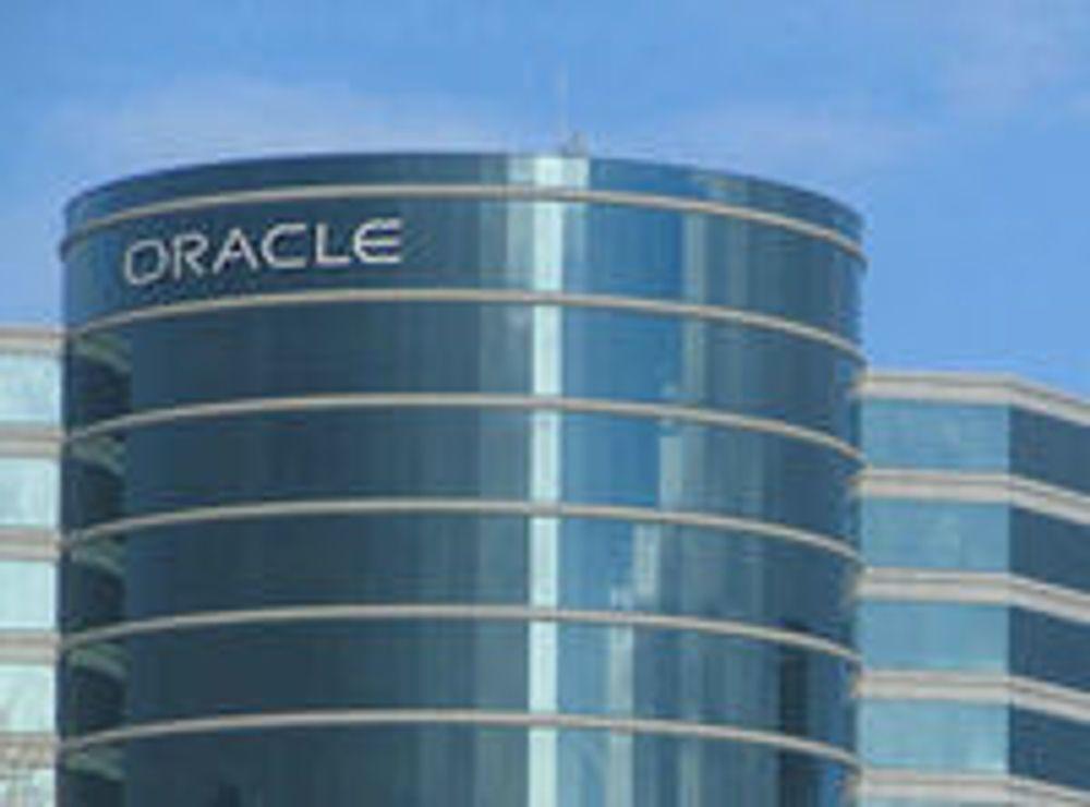Oppdatert virtuell maskin fra Oracle