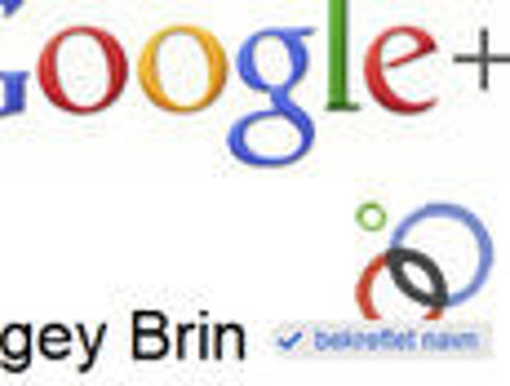 Sjekker ektheten til mange Google+-profiler