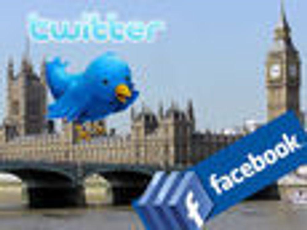 Kaller inn Twitter, Facebook og RIM