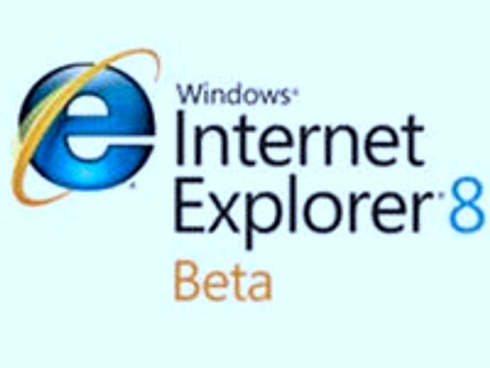 Slik skal Internet Explorer 8 bli sikker