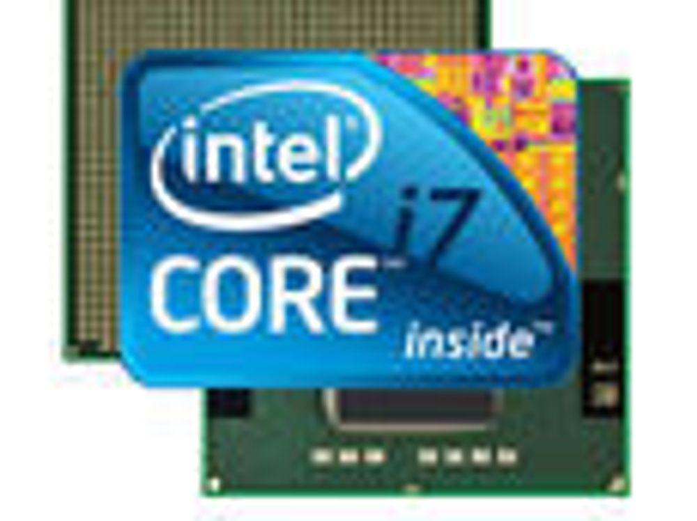 Intel med Core i7-prosessorer til bærbare