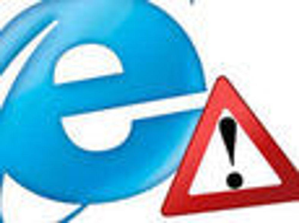 Bygger Chrome inn i IE