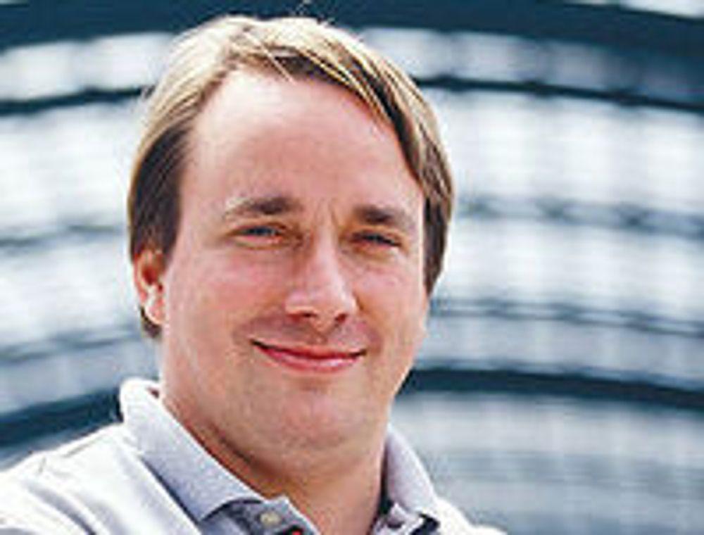 Linus Torvalds er fornøyd over måten Linux utvikles på, selv om systemet er blitt «kjempestort og oppblåst». (foto: Wikimedia Commons)