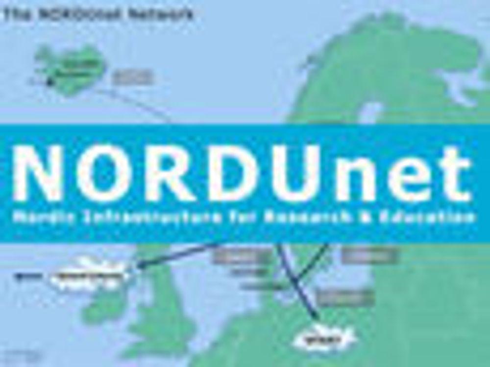 Nordisk forskningsnett har fått opp farten