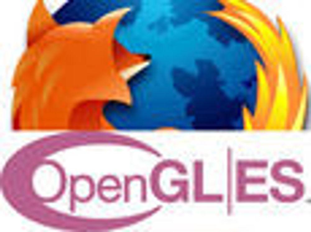 Test 3D-grafikk direkte i Firefox